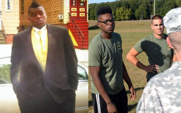 This Army Recruit Lost Half His Body Weight In Order To Enlist