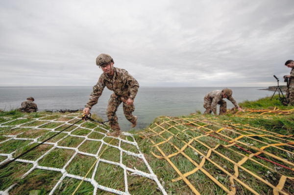 Army Rangers just scaled the cliffs of Pointe du Hoc in honor of the WWII Rangers who stormed Normandy