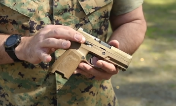 Marine grunts' first new standard-issue pistol in 30 years is just over the horizon