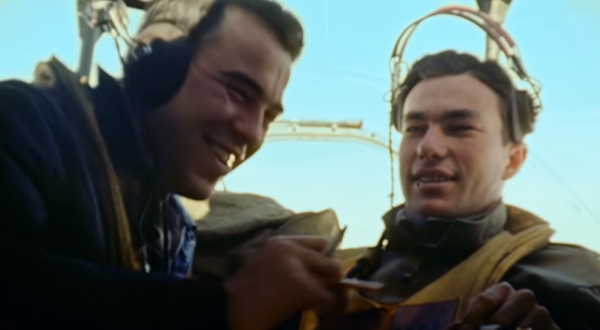 A new WWII documentary chronicles the heroism of B-17 bomber crews and the horrors they endured