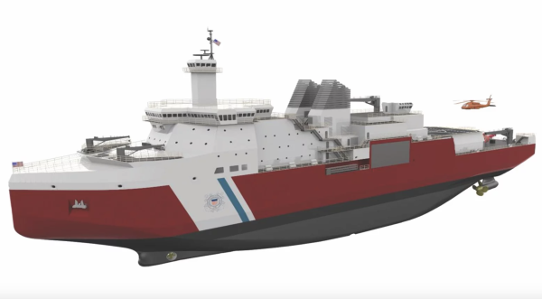 The Coast Guard is finally getting its first new heavy icebreaker in 4 decades