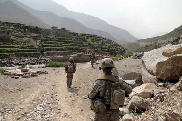 10 years ago, a handful of American soldiers held the line as hundreds of Taliban insurgents attacked a tiny US outpost