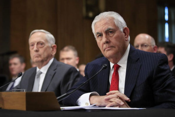 Report: Mattis And Tillerson Are Trying To Talk Trump Out Of Striking North Korea