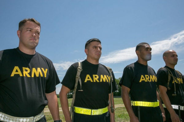 The Army Is Ditching Its Gray PT Uniforms For This Fancy New Workout Gear