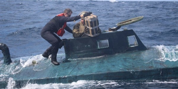 The Coast Guard busted another 'narco sub' carrying 12,000 pounds of cocaine