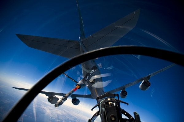 The Air Force Is Sending More Fighter Jets And Tankers To Afghanistan