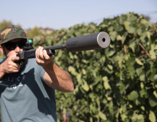 How Do You Get Around Anti-Suppressor Laws? Try This Muzzleloader
