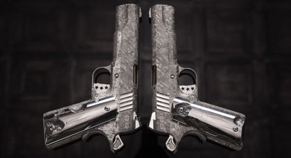 These Heaven-Sent Hand Cannons Cost $4.5 Million And Are Made Of Meteorite