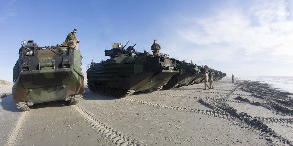 Pendleton Fire Started When Marine Amphibious Vehicle Hit Gas Line, Official Says