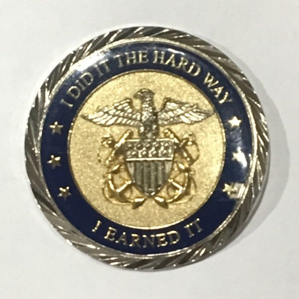 The incredible true story of how a Navy challenge coin saved this Oklahoma police officer's life