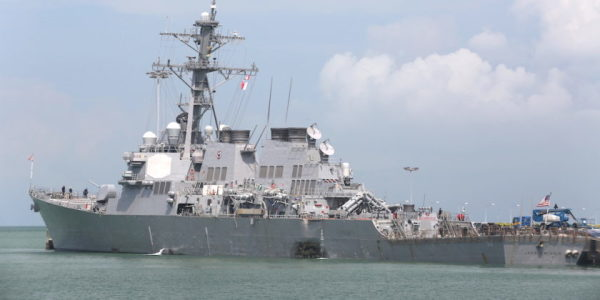 New Report Finds Navy Crews Are Undermanned, Overworked, And Lack Training