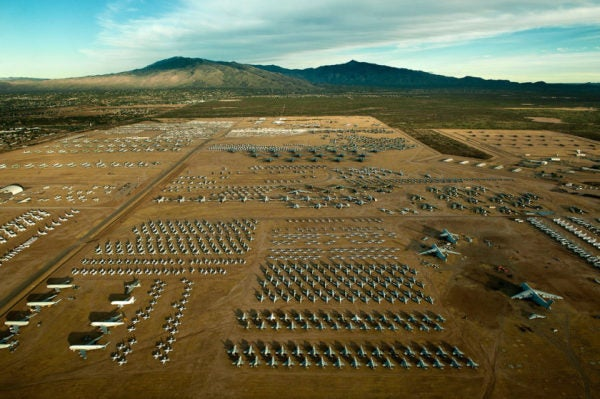 The Air Force Scavenged Parts From Its Infamous 'Boneyard' To Put Its Largest Plane Back Into Service