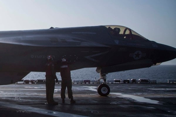 The Marine Corps' F-35 Combat Debut Was Flown In Honor Of A Fallen Hero