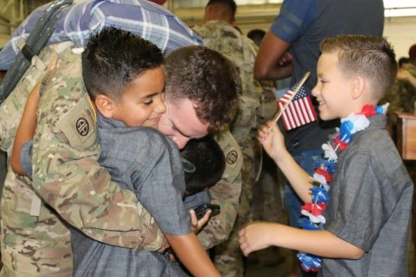 Fort Bragg Families Welcome Hundreds Of Paratroopers Home From Fight Against ISIS