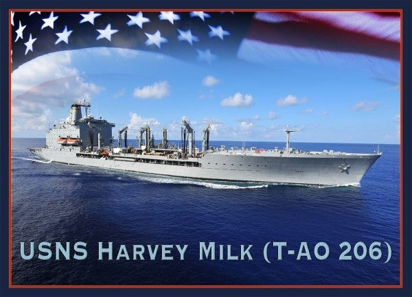 Civil rights leader Harvey Milk was kicked out of the Navy for being gay. Now the Navy's naming a ship after him