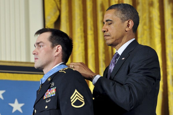 Medal of Honor recipient Clint Romesha on why soldiers go to war
