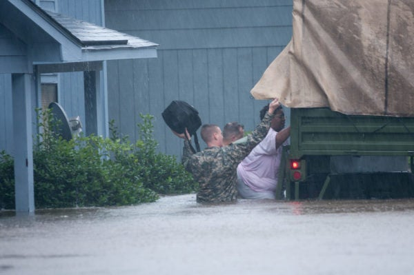 How The US Military Responds To A Hurricane, In Photos