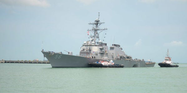 Navy IDs All 10 Missing Or Dead Sailors In McCain Tragedy, Ends Rescue Ops