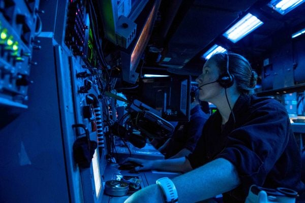 Here's How Navy Crews Watch For (And Respond To) Collisions At Sea