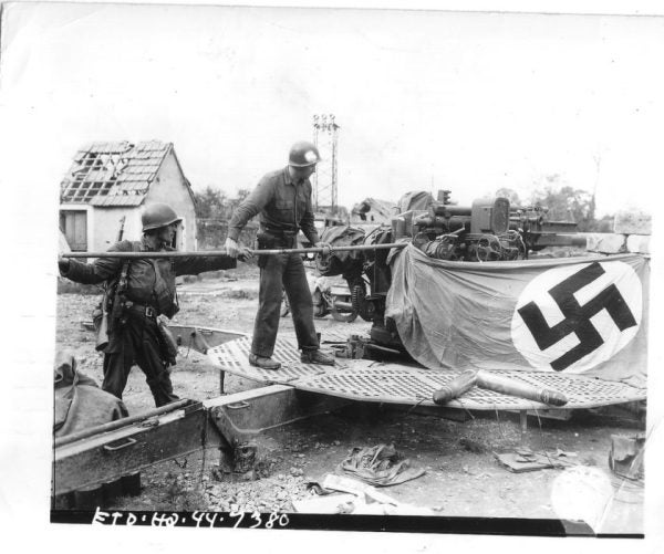 14 Photos Of US Vets Showing The Proper Way To Display A Nazi Flag