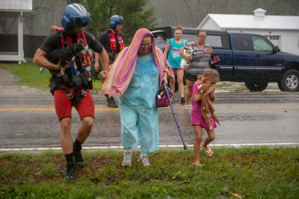 The US Military Steps Up Hurricane Florence Relief Efforts As Flooding Persists