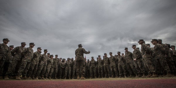 2 Marine Commanders Fired, 33 Others Punished In Wake Of Nude-Photo Scandal
