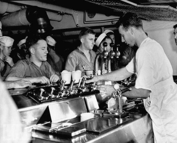 How The Navy's Ban On Booze Birthed A Million-Dollar Floating Ice Cream Parlor