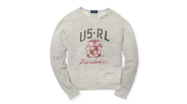 Ralph Lauren's Combat Chic Sweater Is Sure To Turn Heads, And Give Your Sgt Maj An Aneurysm
