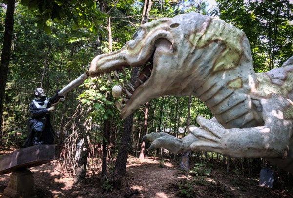 There's A Theme Park About That Time The Union Tried To Use Dinosaurs To Win The Civil War