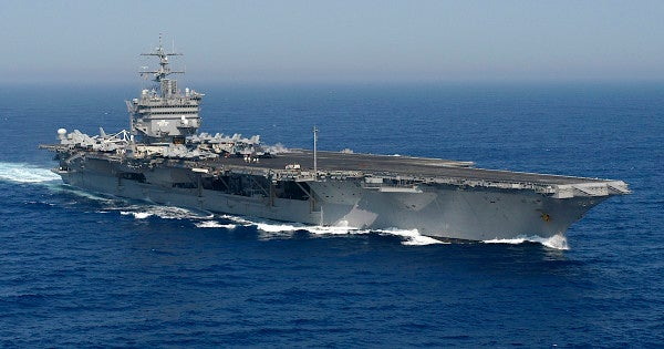 The Navy is trying to figure out how to dispose of the world's first nuclear-powered aircraft carrier