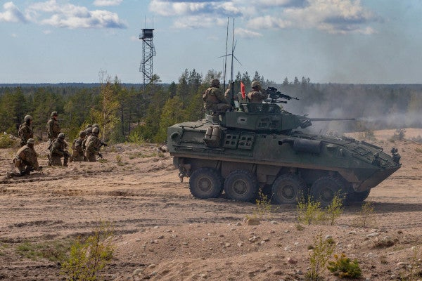 Marines are pulling even more tanks out of caves in Norway for war games on Russia's doorstep