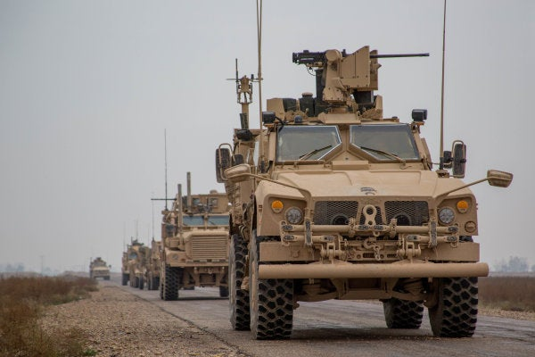 The US-backed Syrian force fighting ISIS asked for at least 1,000 Americans to stay