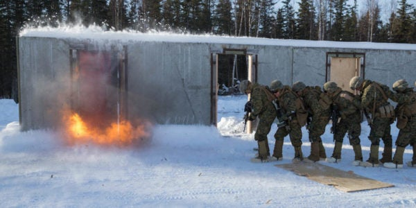 Marines Are Training Hard In Alaska To Prepare For The Next 'Big-Ass Fight'