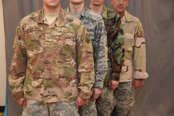 What The Fresh Hell Is Going On With This Air Force Uniform Photo?
