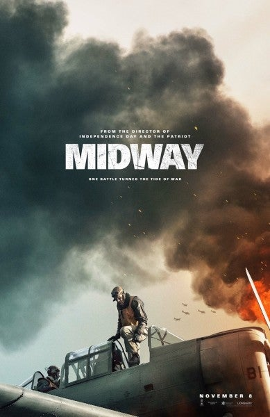 'It's a relatively perfect recreation of everything' — Here's your first look at the upcoming WWII epic 'Midway'