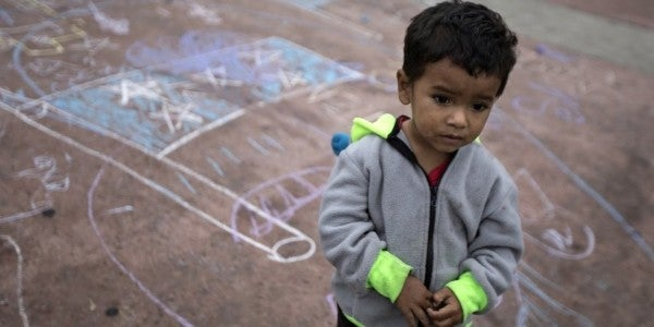 The White House want to keep migrant children detained at the US-Mexico border at Fort Benning