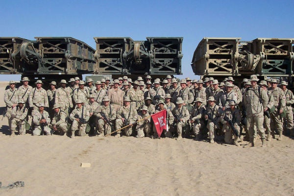 The platoon sergeant who gave his life to repel dozens of Iraqi troops with a .50 cal