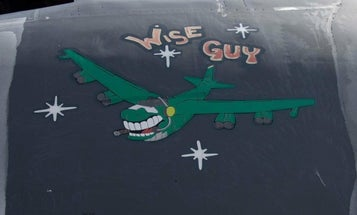 The Air Force just resurrected a 60-year-old B-52 bomber named 'Wise Guy' from its boneyard to fight another day