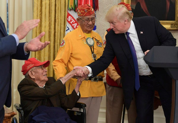 One of the few remaining WWII Navajo code talkers has died