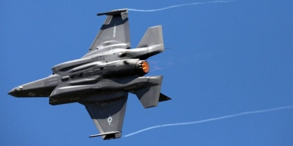 A bird beat up a Marine Corps F-35B fighter, causing at least $2 million in damages