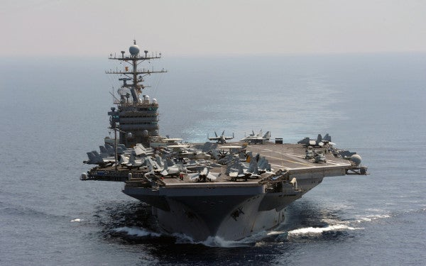 Here's how the world's first nuclear-powered aircraft carrier lives on in other US Navy flattops