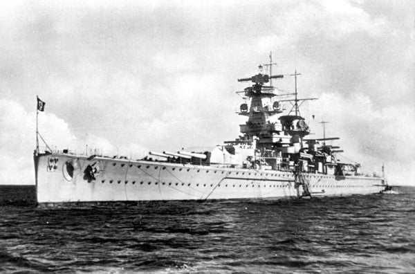 How the Royal Navy tricked the Nazis into sinking their own battleship during WWII