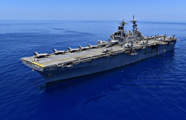 The Navy is sending its most powerful amphibious assault ship to the Pacific