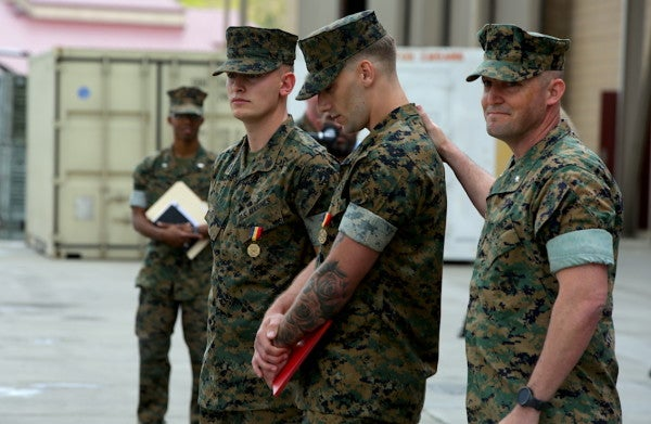 2 Marines receive Corps's highest non-combat award for life-saving actions during Las Vegas mass shooting