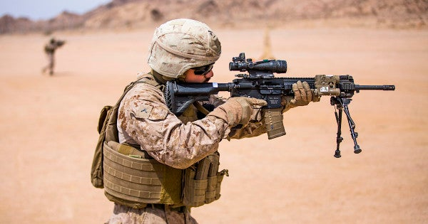 The Marine Corps's M27 rifle is officially here to make your day — if you're lucky