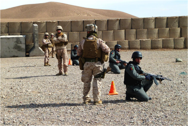 10 Photos Of A Marine's Experience Training Afghan Police