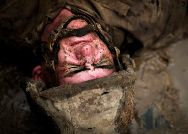 He survived cancer and the Crucible. After 956 days as a recruit, he's finally a Marine