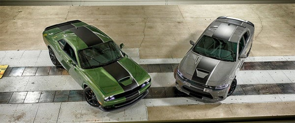 Dodge's new 'Stars and Stripes' Chargers and Challengers are tailor-made for the base parking lot