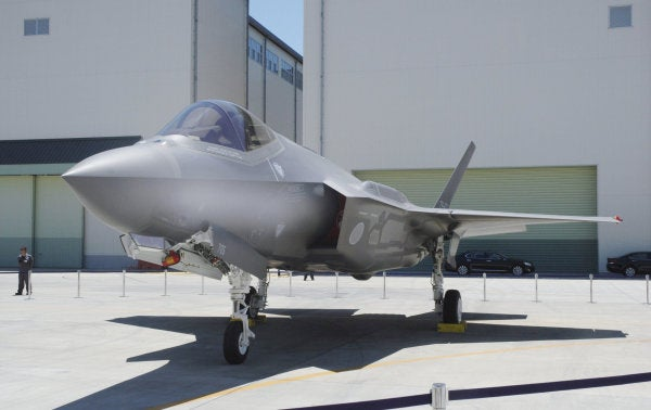 Crashed Japanese F-35 wreckage found in Pacific