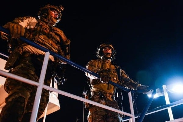 'The night is ours' — Inside the elite world of Coast Guard ship-boarding teams